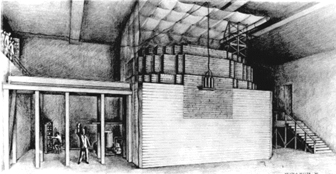 First Nuclear Reactor in The World Was Built in A Squash Court