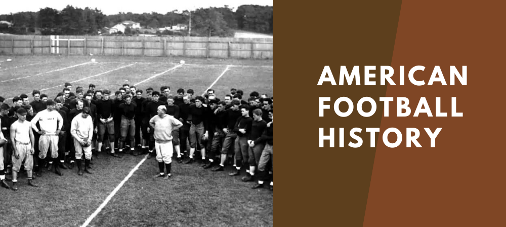 american football history facts