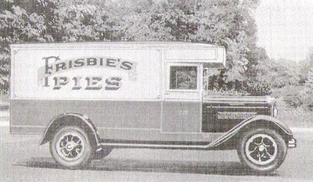 ultimate frisbee pies car