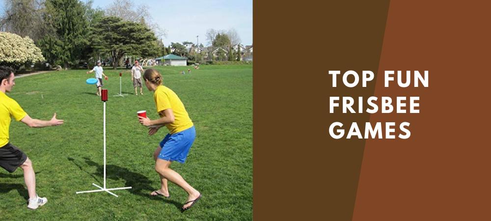 fun frisbee games
